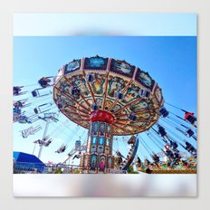 Round and Round and... Canvas Print