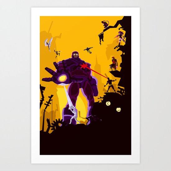 The Uncanny X-Men Art Print