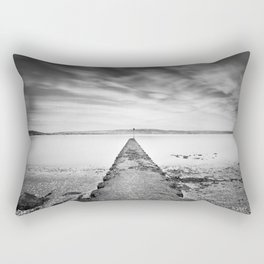 Passage of Time Over Belfast Lough Rectangular Pillow