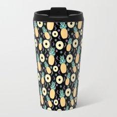 Black Pineapple Travel Mug