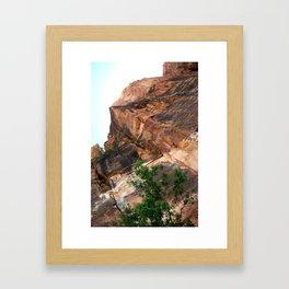 Zion - Up Framed Art Print
