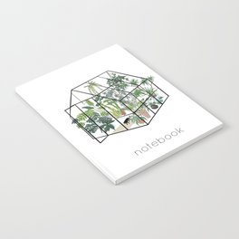 greenhouse with plants Notebook