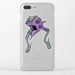 Octo-Seeker Clear iPhone Case