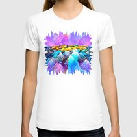 data T-shirts featuring Data Sea by NatalieCatLee