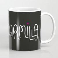 carmilla Mugs featuring Carmilla by saintsandstorms