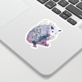 possum & fleabane Sticker
