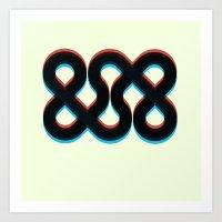 3d Art Prints featuring 3d && by pixel.pwn | AK