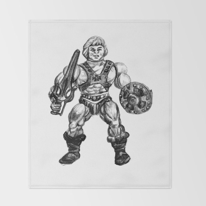 HE-MAN Throw Blanket