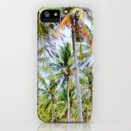 Gili Island Coco Farm iPhone Case