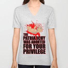 Baby Patriarchy #1 Unisex V-Neck