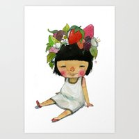 spring Art Prints featuring Spring  by Young Ju