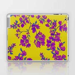 Bougainvillea casa yellow Laptop & iPad Skin