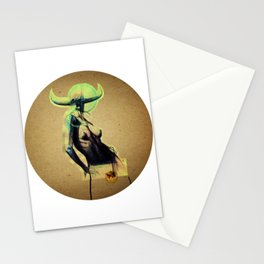 Pasiphaë - Wide-shining - Queen Stationery Cards