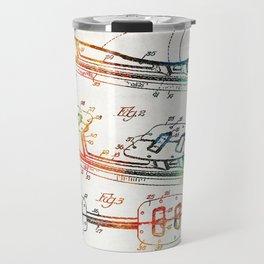 Ice Skate Patent - Sharon Cummings Travel Mug