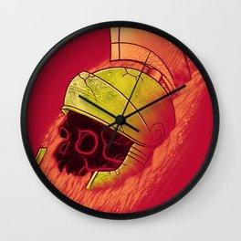 Martian Artifact Wall Clock