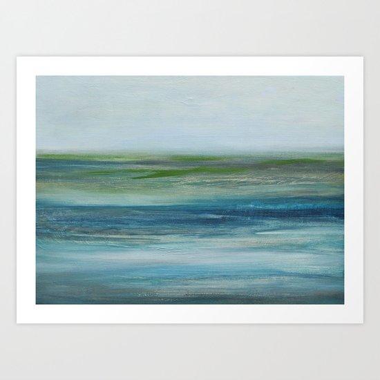 saltmarsh Art Print