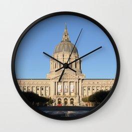 San Fransisco City Hall Wall Clock