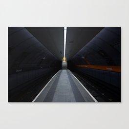 Cessnock Subway, Glasgow Canvas Print