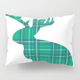 Lumberjackalope (Light Green) Pillow Sham