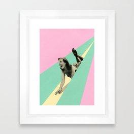 Slide Framed Art Print