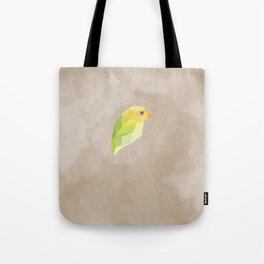 Green Canary Tote Bag