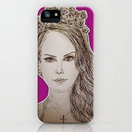 (Queen Elizabeth - Lana) - yks by ofs珊 iPhone Case