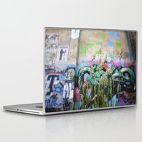 cycle Laptop & iPad Skins featuring Cycle by Calle de Rosa