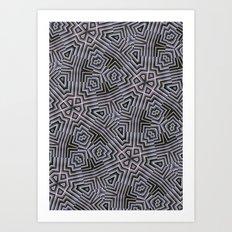 Di-simetrías 1 Art Print