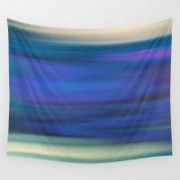 indigo Wall Tapestries featuring Indigo by Angelz