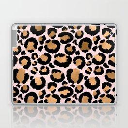 Animal print - pink copper Laptop & iPad Skin