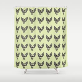 Ancient Harpy Mythical Mythology Color Pattern Shower Curtain