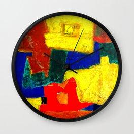 Equilibrium - Balance -Öl auf Leinwand Wall Clock