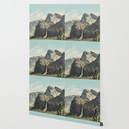 Yosemite Valley Waterfall Wallpaper