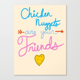 McFriendship Canvas Print