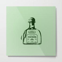 Patron Tequila Pop Art Metal Print