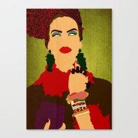 brasil Canvas Prints featuring Brasil by frtortora