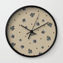 moka Wall Clock