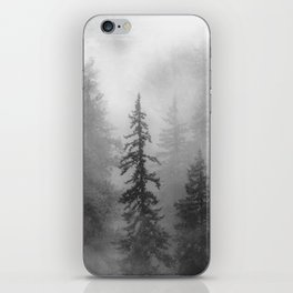 Forest In The Clouds - Nature Photography iPhone Skin