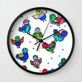 MY LITTLE BIRDS Wall Clock