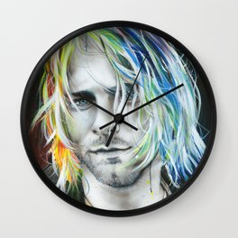 'In Debt For My Thirst' Wall Clock