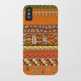 Yzor pattern 012 rich summer iPhone Case