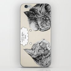 Cat Confusion iPhone & iPod Skin