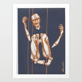Ankoku Butoh Art Print
