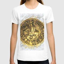 Knights Templar Sigil T-shirt