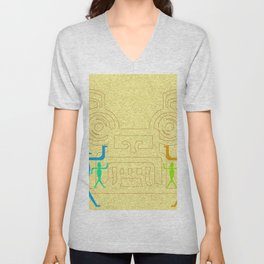 Meeting of cultures Unisex V-Neck