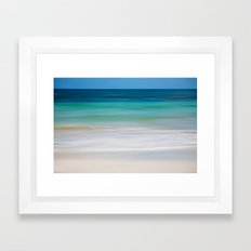 SEA ESCAPE Framed Art Print