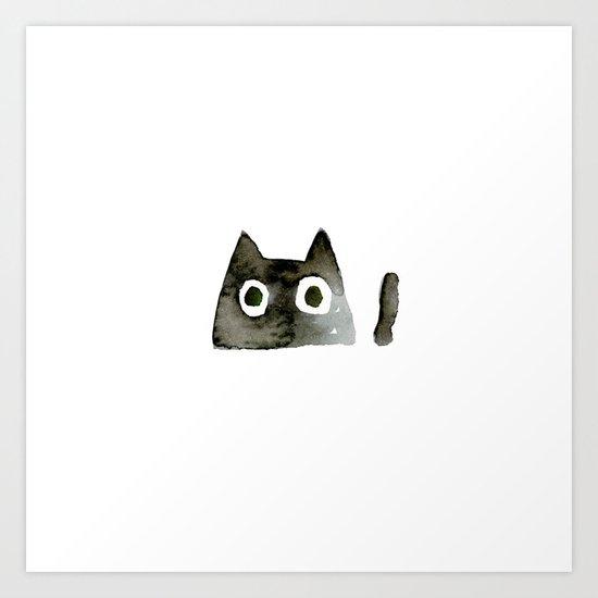 I Love Cats No.13 by Kathy Morton Stanion by kathymortonstanion