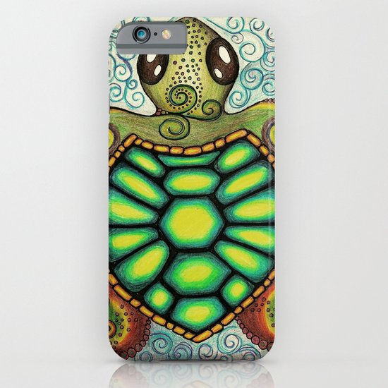 Baby Sea Turtle iPhone & iPod Case