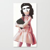 che Canvas Prints featuring Che by Jennifer