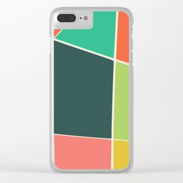 Colorful mosaic for your home Clear iPhone Case